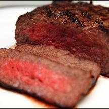 water buffalo rump steak